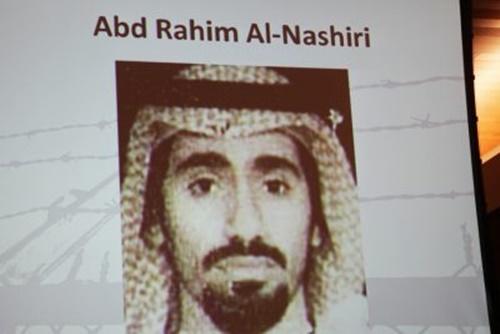 Nghi phạm khủng bố Abd al Rahim al Nashiri. Ảnh: Invex News.