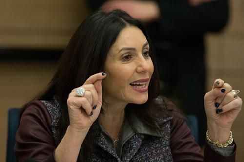 Bộ trưởng Văn hóa và Thể thao của Israel Miri Regev. Ảnh: Haaretz.