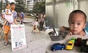 Người cha Trung Quốc cầm biển rao bán con gái để chữa bệnh cho con trai