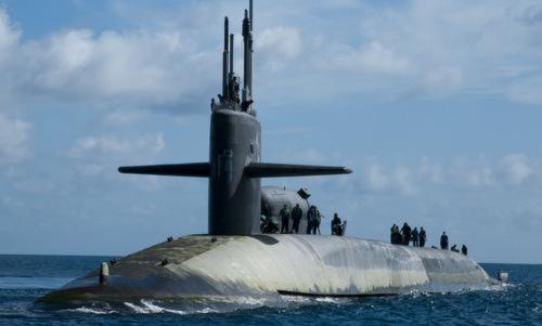 Nga theo dõi tàu ngầm hạt nhân Mỹ hai giờ trên Địa Trung Hải