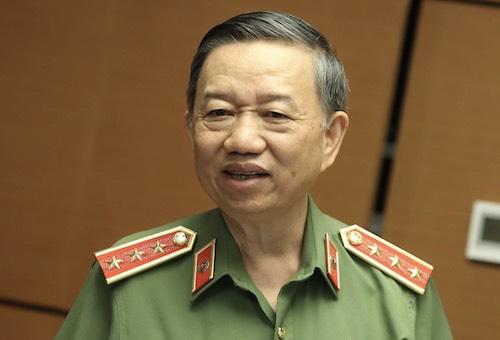 Bộ trưởng Công an Tô Lâm sẽ trả lời chất vấn chính chiều 13/8. Ảnh: Hoàng Phong.