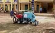 Nông dân An Giang chế tạo máy hút rác