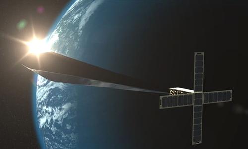 Orbital Reflector sẽ hoạt động. Ảnh:Digital Trends.