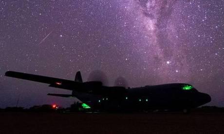 Vận tải cơ C-130J Mỹ đóng tại Djibouti năm 2016. Ảnh: USAF.
