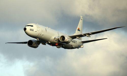 Máy bay P-8A của Mỹ hoạt động trên Thái Bình Dương hồi năm 2017. Ảnh: US Navy.