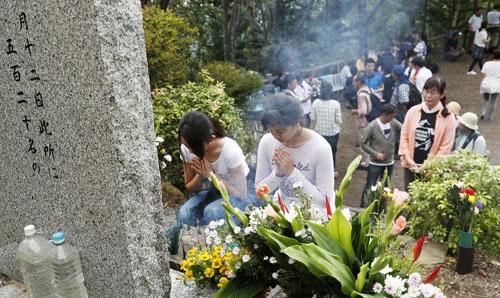 Nhật Bản tưởng niệm tai nạn máy bay thảm khốc khiến 520 người thiệt mạng - ảnh 1