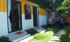 Khách sạn bằng container đầu tiên tại Quảng Bình
