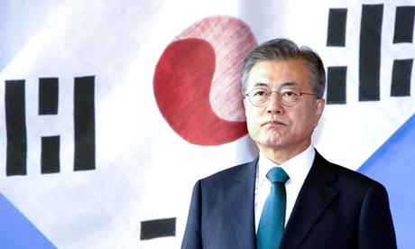 Tổng thống Hàn Quốc Moon Jae-in. Ảnh: Korea Times.