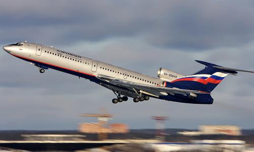 Trinh sát Tu-154, phương tiện hay được Nga sử dụng trong các chuyến bay trên không phận Mỹ trong khuôn khổ Hiệp ước Bầu trời mở. Ảnh: Business Insider.