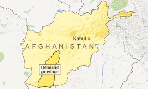 Vị trí tỉnh Helmand ở phía nam Afghanistan. Đồ họa: Al Jazeera.
