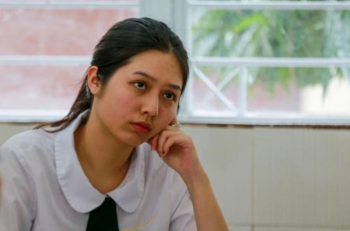 Thí sinh thi THPT quốc gia năm 2018. Ảnh: Quỳnh Trần