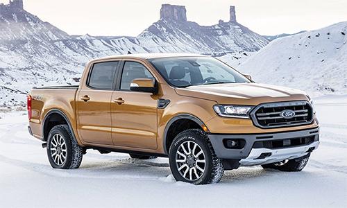 Ford Ranger 2019 giá từ 24.300 USD ở Mỹ