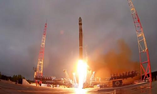 Vệ tinh Cosmos-2519, phương tiện Nga sử dụng để phóng vũ khí diệt vệ tinhlên quỹ đạo hồi tháng 6/2017. Ảnh:TvZvezda.
