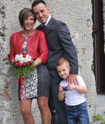 Gia đình Roberto Robbiano, Ersilia Piccinino và con trai Samuele