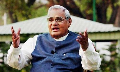 Cựu thủ tướng Atal Bihari Vajpayee. Ảnh: NDTV.