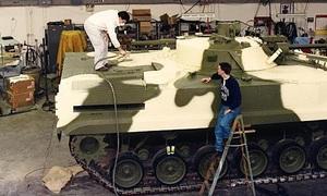 Mỹ biến xe tăng cũ thành thiết giáp Nga để tập bắn