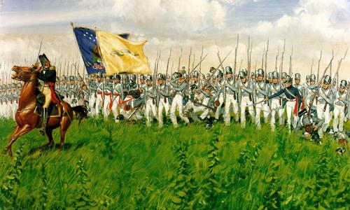Lực lượng thường trực của lục quân Mỹ cuối thế kỷ 19. Ảnh: Task and Purpose.