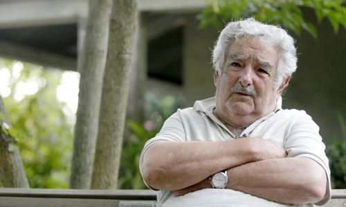 Jose Mujica, người được mệnh danh là tổng thống nghèo nhất thế giới vì có lối sống giản dị. Ảnh: Reuters.