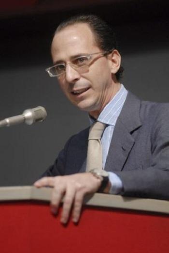 Giovanni Calvini, chủ tịch một chi nhánh địa phương của Tổng Liên đoàn Công nghiệp Italy tại Genoa. Ảnh: Ilse.