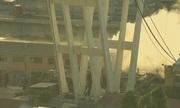 Cháy gần hiện trường vụ sập cầu cao tốc ở Italy