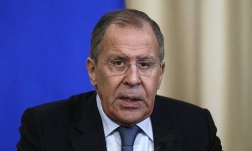 Ngoại trưởng Nga Sergei Lavrov. Ảnh: Daily Sabah.