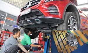 'Ống thở' vi sai giúp Mercedes GLC lội nước giá một triệu đồng