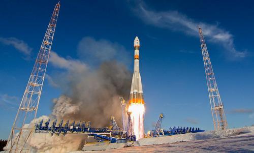 Tên lửa đẩy mang vệ tinh sửa chữa của Nga lên quỹ đạo năm 2014. Ảnh: Roscosmos.