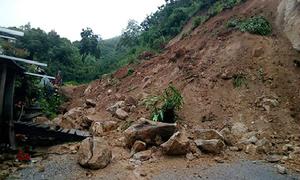 Huyện biên giới ở Thanh Hoá bị cô lập
