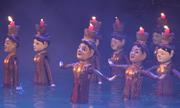 Múa rối nước lần đầu biểu diễn ở phố đi bộ Nguyễn Huệ