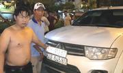 Ôtô đem theo nhiều biển số giả để chở thuốc lá lậu ở Sài Gòn