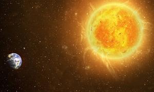 Viễn cảnh diệt vong nếu Trái Đất va chạm với Mặt Trời