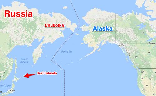 Vị trí bang Alaska của Mỹ. Đồ họa: Denise Simon.