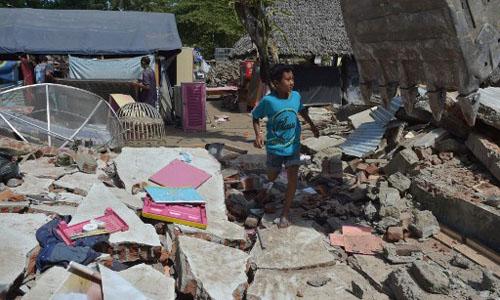 Đảo Lombok ở Indonesia lại rung chuyển vì động đất 6,3 độ