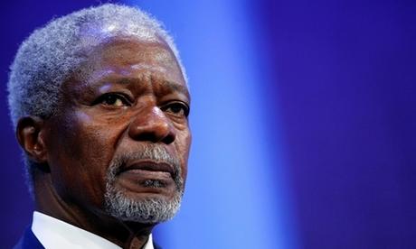 Kofi Annan tại một cuộc tọa đàm ở New York tháng 9/2009. Ảnh: Reuters.