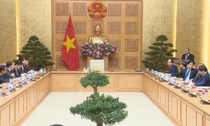 Thủ tướng gặp đoàn đại biểu người Việt tài năng trong lĩnh vực khoa học, công nghệ