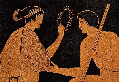 Vòng nguyệt quế từng là phần thưởng dành cho người chiến thắng trong thời cổ đại. Ảnh: Villa Hurmuses