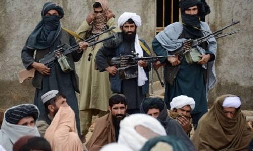 Phiến quân Taliban tại tỉnh Farah, Afghanistan. Ảnh: AP.