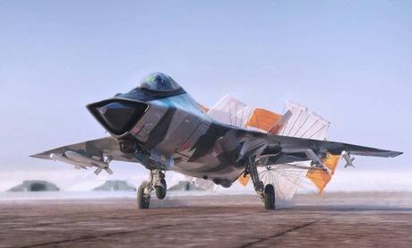 Một bản mẫu thiết kế mẫu MiG-41 được công bố năm 2014. Ảnh: MiG.