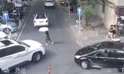 Nữ tài xế đâm chết cô gái đi bộ sang đường
