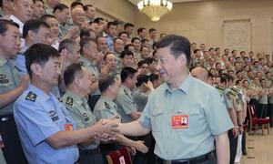 Tập Cận Bình kêu gọi quân đội trung thành với đảng