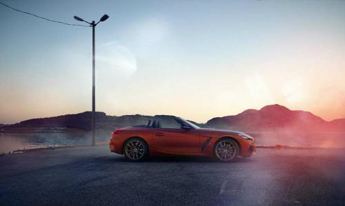BMW Z4 rò rỉ ảnh thực tế trước khi ra mắt vào 23/8 tới tại Mỹ. Ảnh: Carscoops.