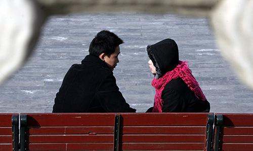 Một đôi nam nữ Trung Quốc. Ảnh minh họa: Reuters