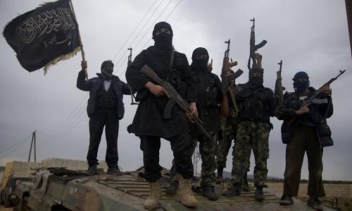 Các tay súng thuộc nhóm Hayat Tahrir Al-Sham ở Syria. Ảnh: South Front.