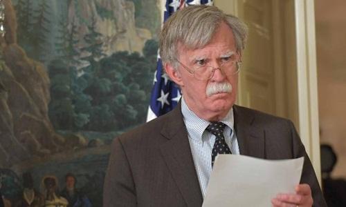 Cố vấn an ninh quốc gia Mỹ John Bolton. Ảnh: AFP.