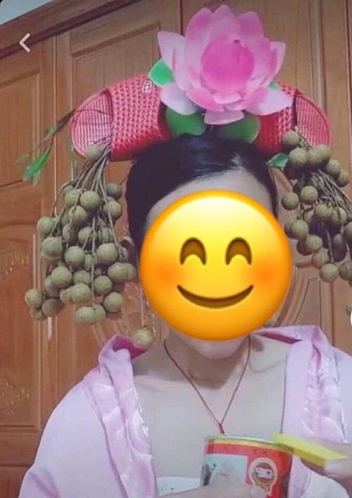 Hóa trang Diên Hi công lược phiên bản cây nhà lá vườn.