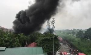 Hỏa hoạn tại Hà Nội thiêu rụi 3 căn nhà và xe ôtô