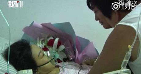 Xiao Hui qua đời tại bệnh viện ở Hà Nam, Trung Quốc hôm 12/8. Ảnh: Shanghaiist.