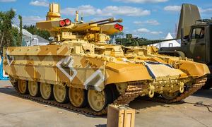 Dàn khí tài góp mặt tại triển lãm quân sự lớn nhất của Nga