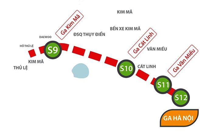 Phối cảnh tuyến Metro hơn tỷ USD ở Hà Nội
