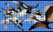 So sánh kích thước những sinh vật bay lớn nhất thời tiền sử